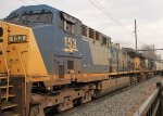CSX 153 on Q409